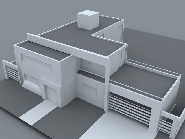 Casa Minimalista u2013 Parque Siquiman u2013 Diseu00f1o y Construcciu00f3n
